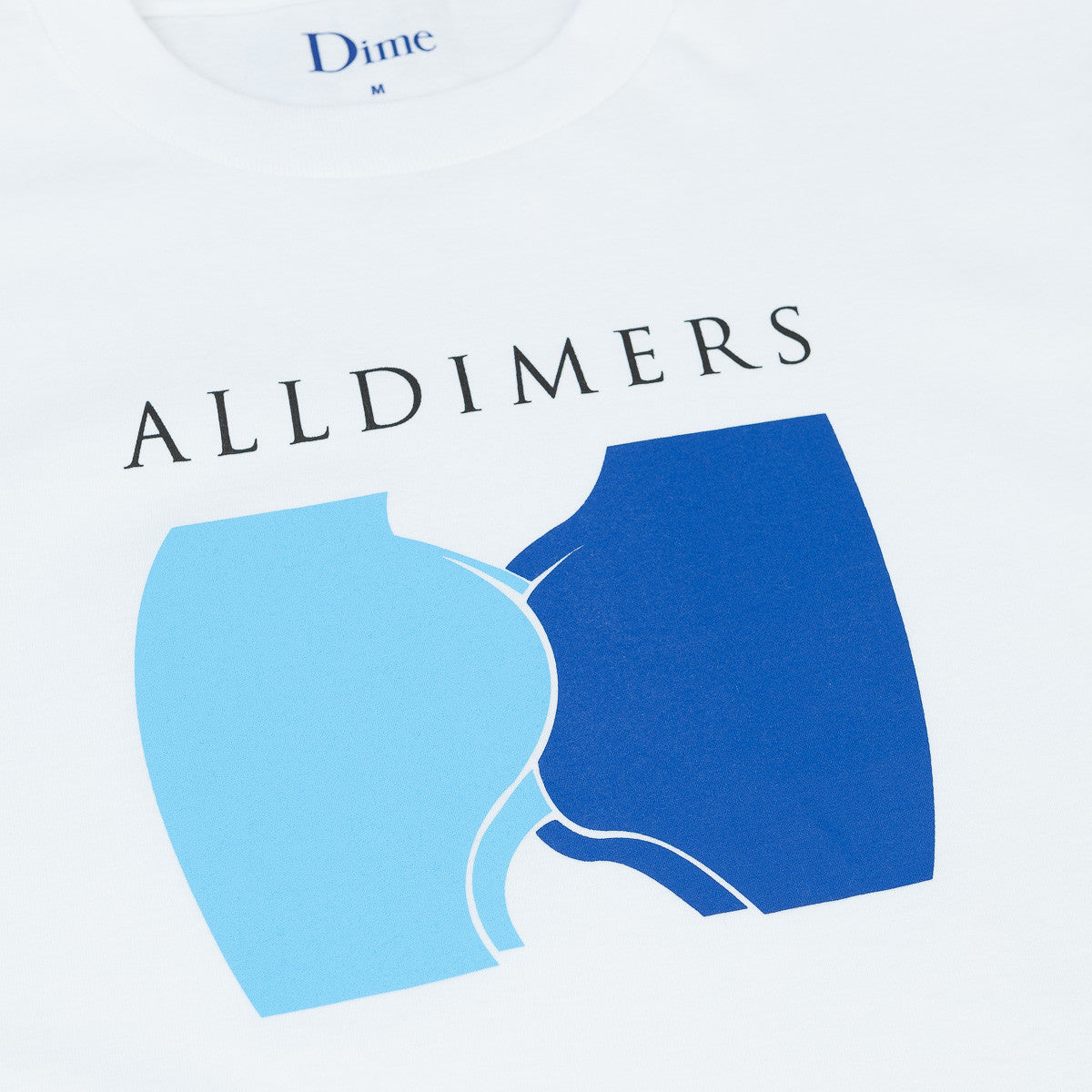 Alltimers X Dime Cheeks T-Shirt - White