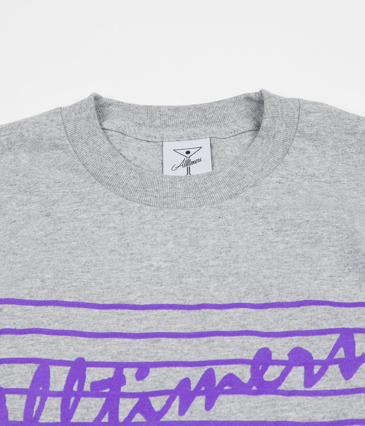 Alltimers Yipee T-Shirt - Heather Grey