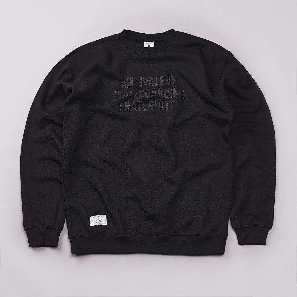 Ambivalent Club Sweatshirt Black