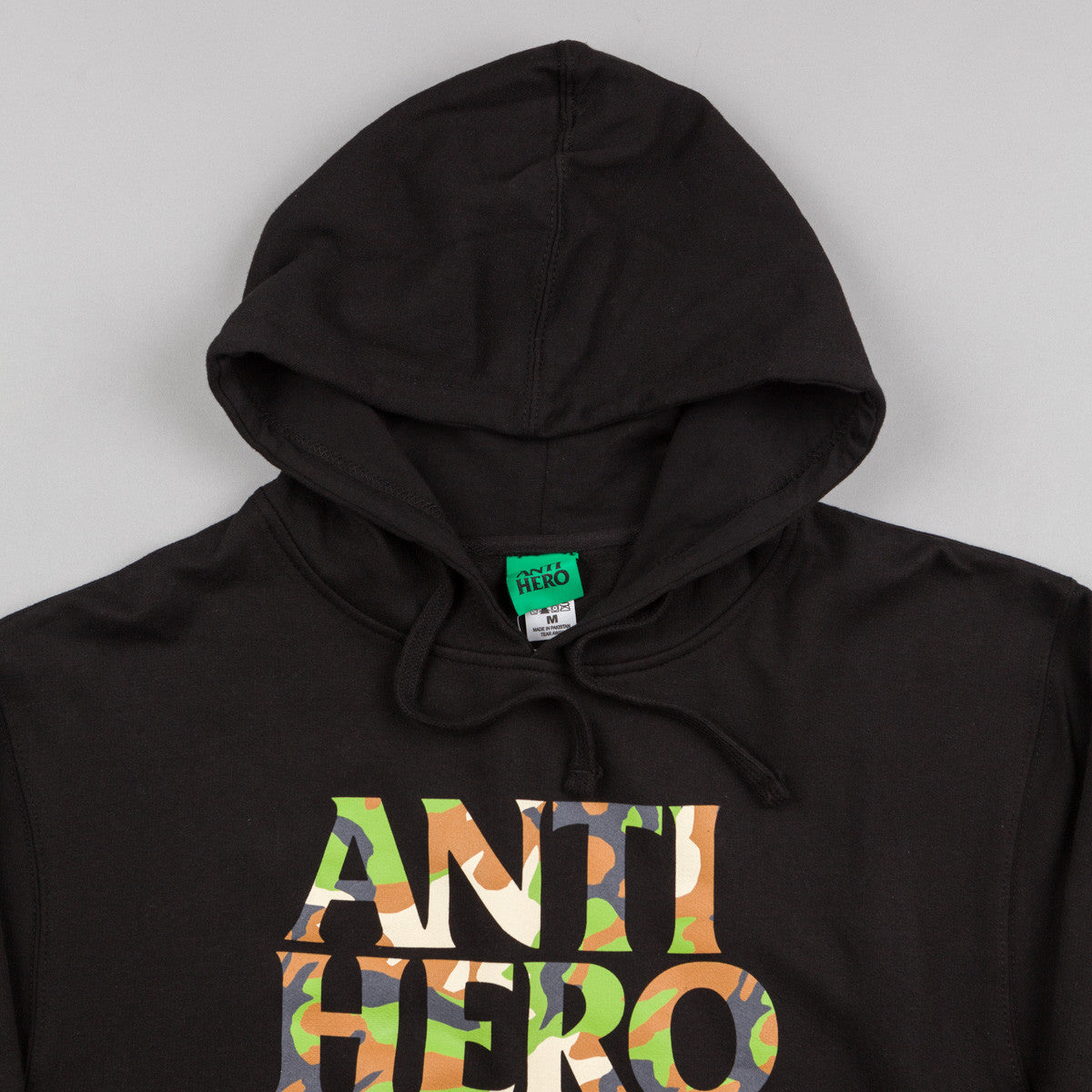 Anti Hero Camo Hero Hooded Sweatshirt - Black
