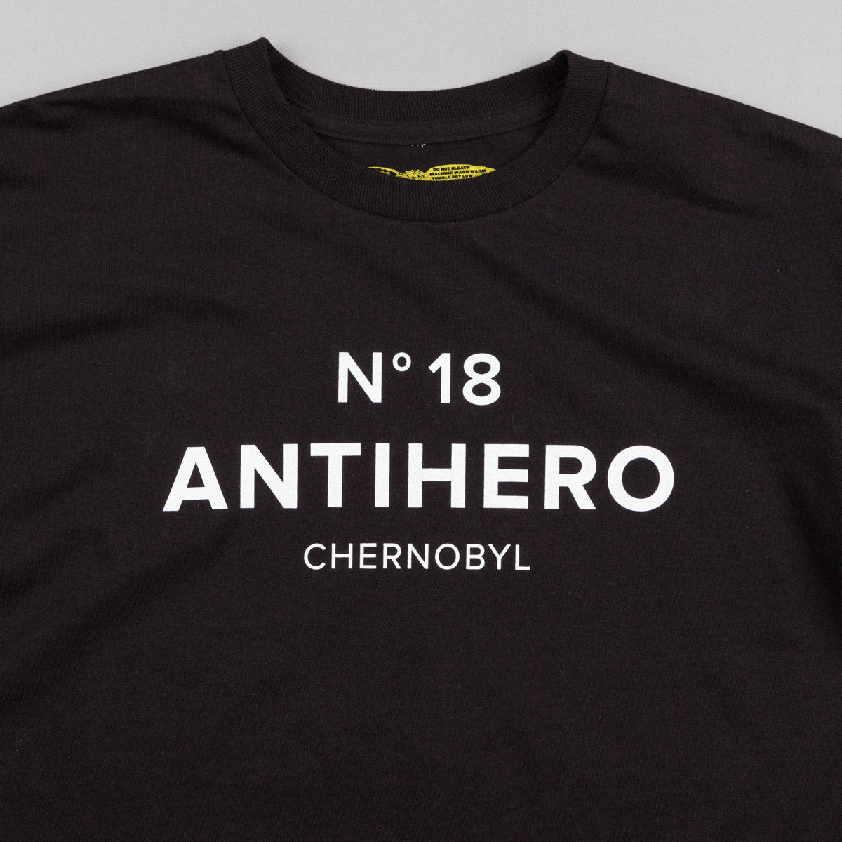 Anti Hero Chernobyl Hero T-Shirt - Black
