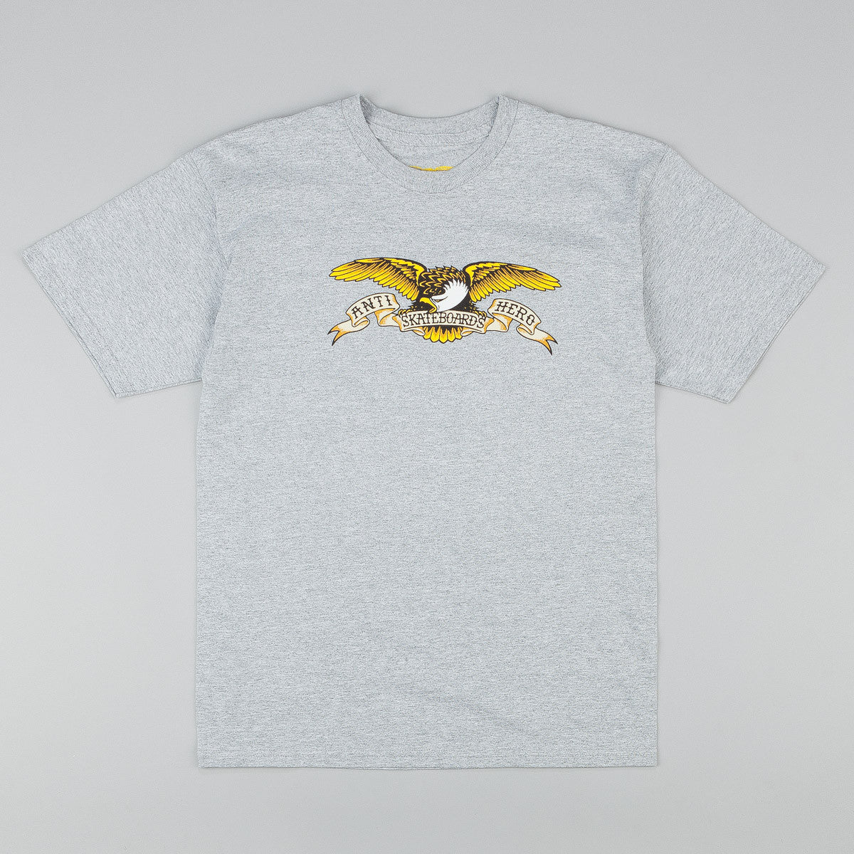 Anti hero Eagle T-Shirt - Athletic Heather Grey