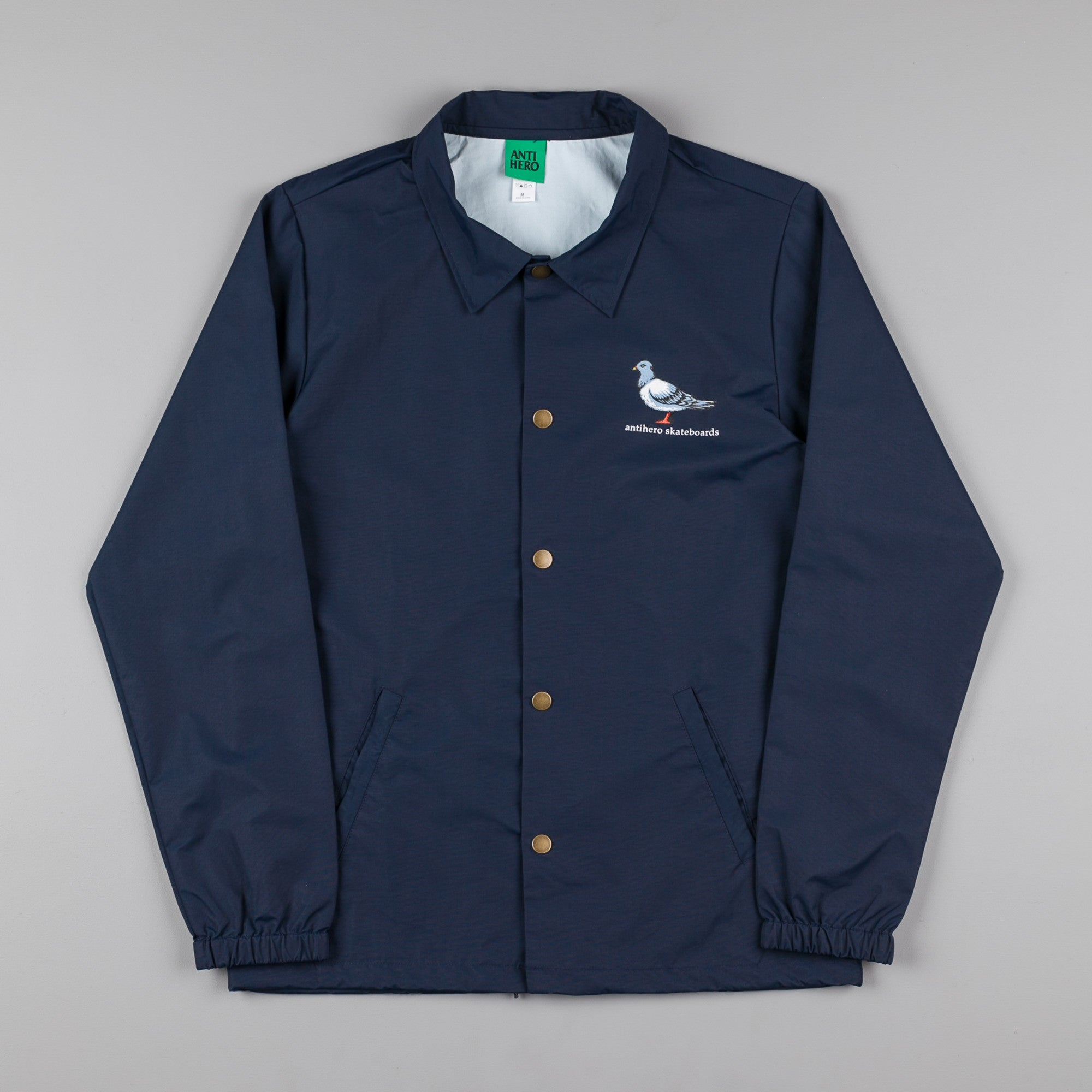 Anti Hero Lil Pigeon Coaches Jacket - Navy