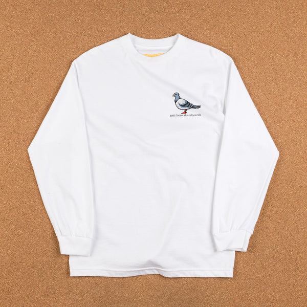 Anti Hero Lil Pigeon Long Sleeve T-Shirt - White