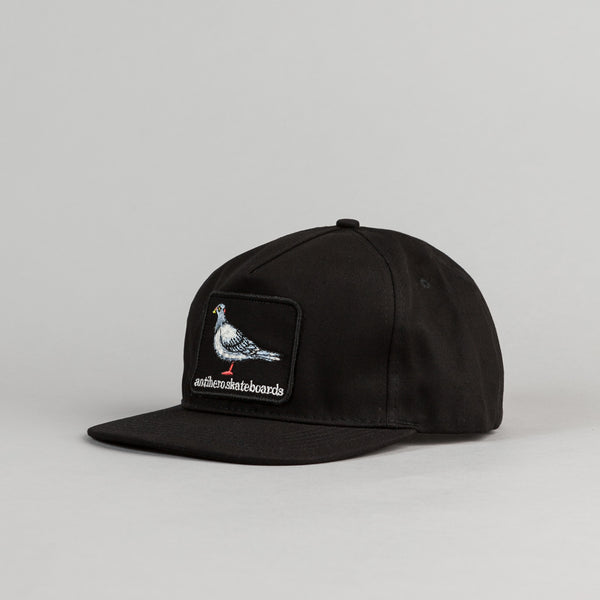 Anti Hero Pigeon Patch Cap - Black