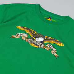 Anti hero T-Shirt Eagle Kelly Green