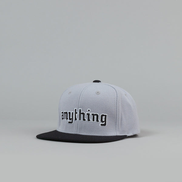 Anything Enigma Starter Snapback Cap Grey