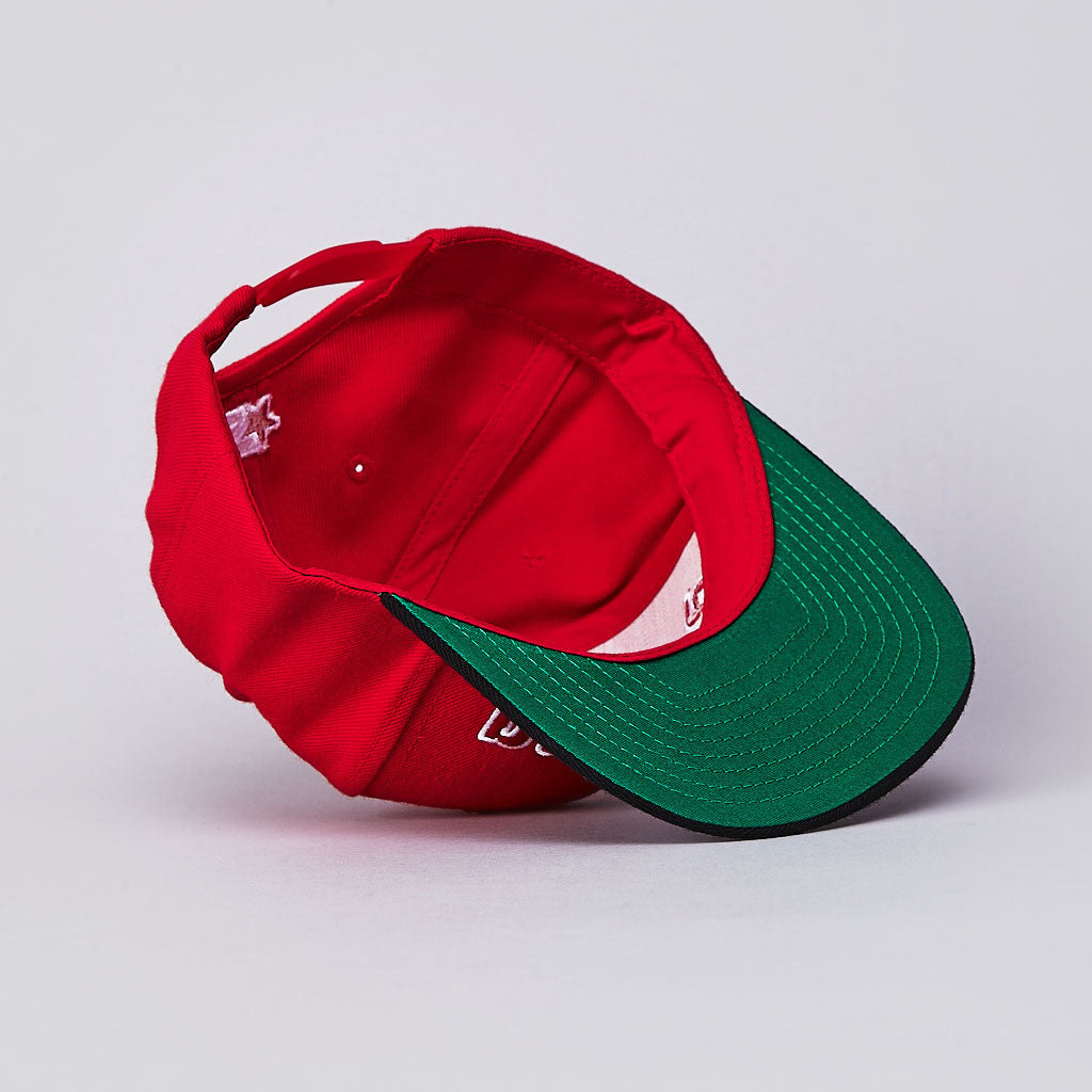 Anything Enigma Starter Snapback Cap Red