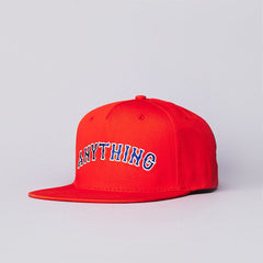 Anything Mets Snapback Cap Orange