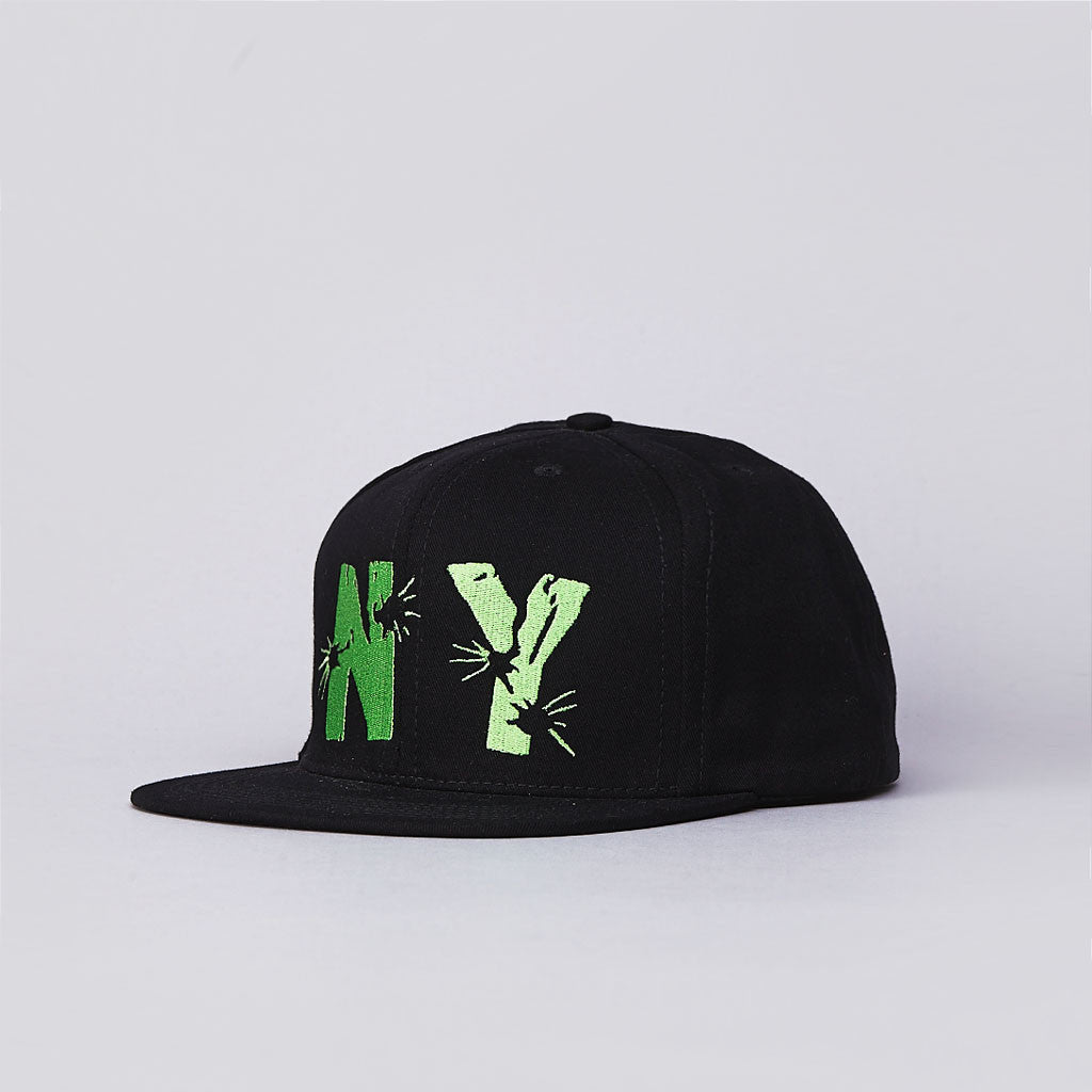 Anything The Explosive 6 Panel Cap Black