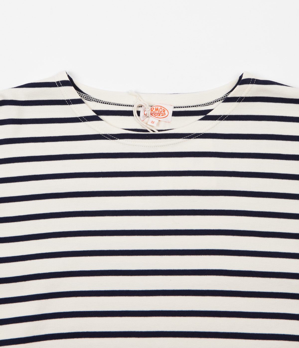 Armor Lux Breton Long Sleeve T-Shirt - Nature / Seal