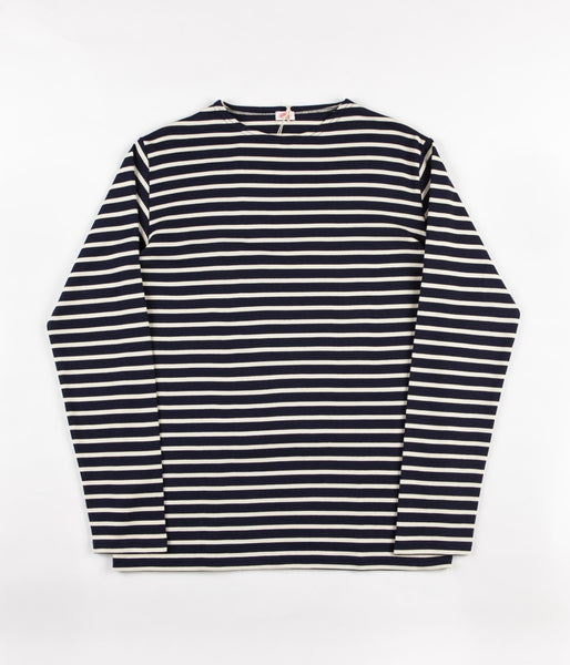 Armor Lux Breton Long Sleeve T-Shirt - Navy / Nature