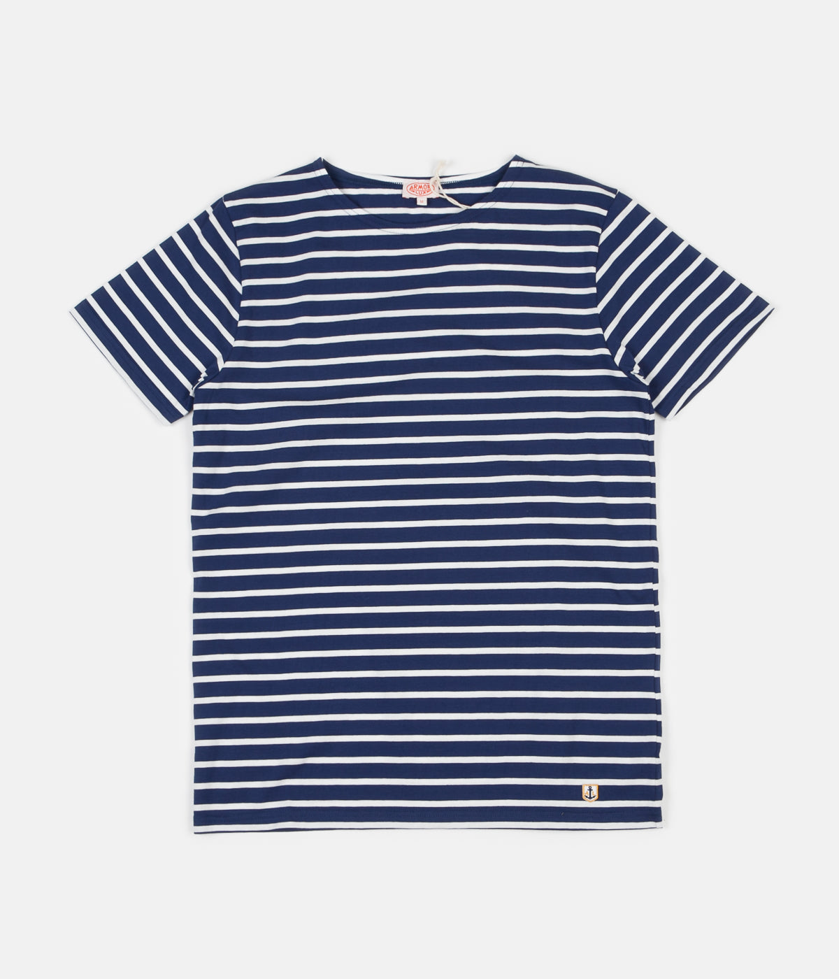 Armor Lux Breton Sailor Striped T-Shirt - Polo / Milk