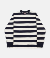 Armor Lux Heritage Stripe Long Sleeve T-Shirt - Iroise / Nature