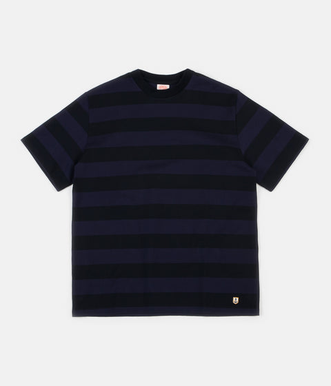 Armor Lux Heritage Stripe T-Shirt - Rich Navy / Iroise