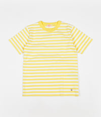 Armor Lux Heritage Striped Heavy Cotton T-Shirt - Rayon / White