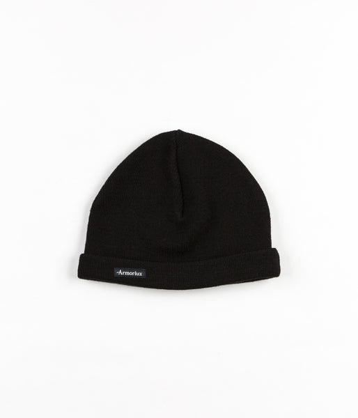Armor Lux Plain Fisherman Beanie - Black