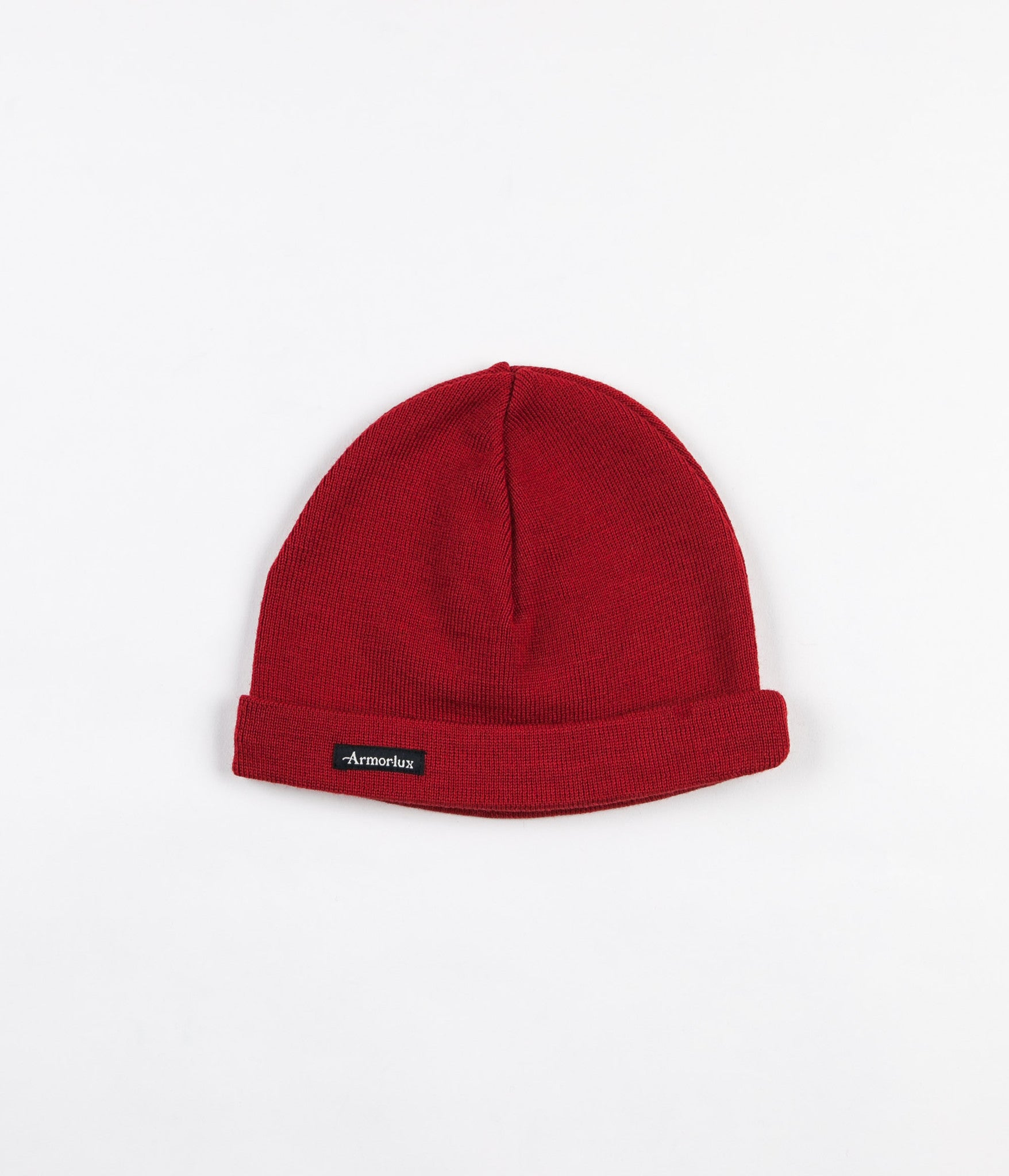 Armor Lux Plain Fisherman Beanie - Red Pepper