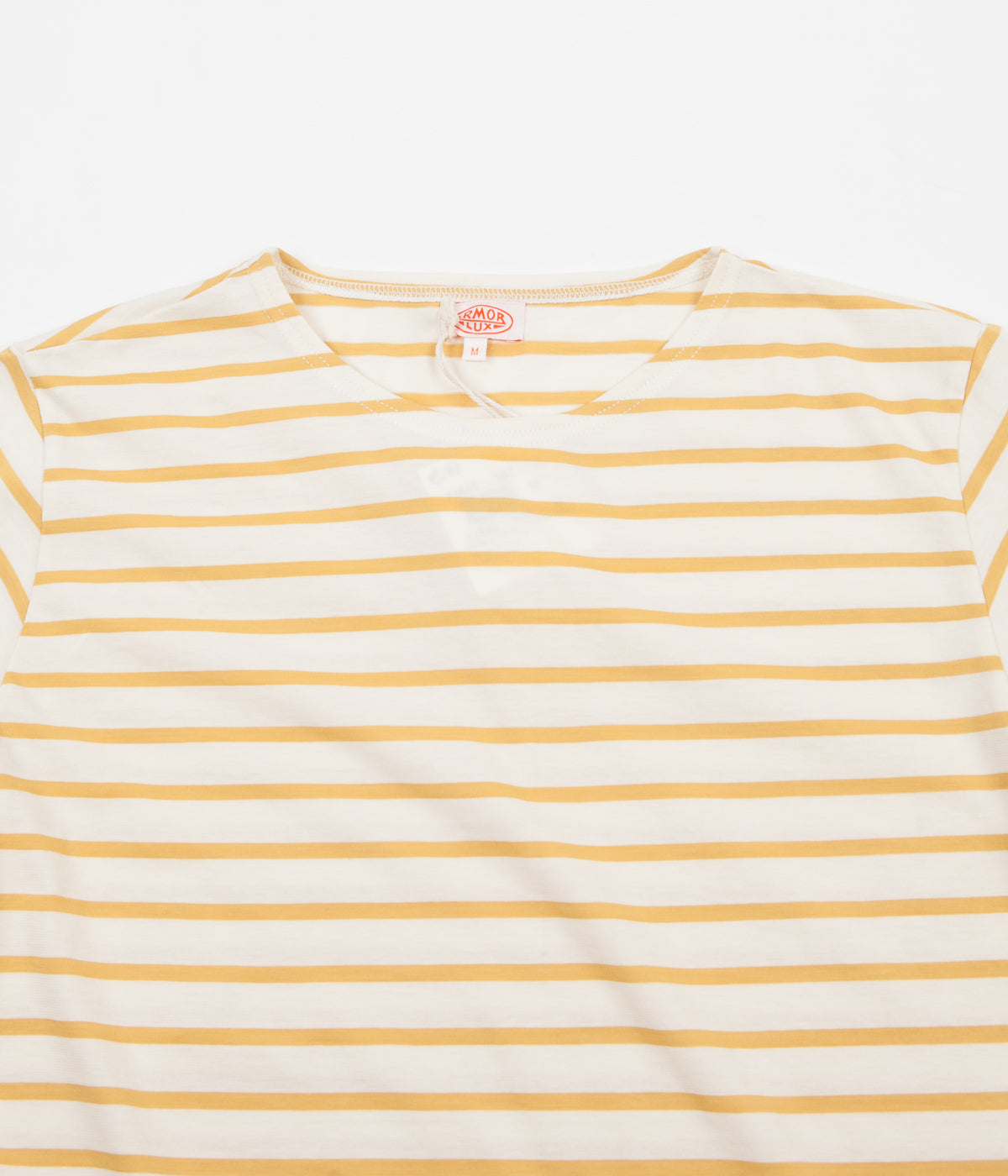 Armor Lux Striped Breton T-Shirt - Nature / Yellow