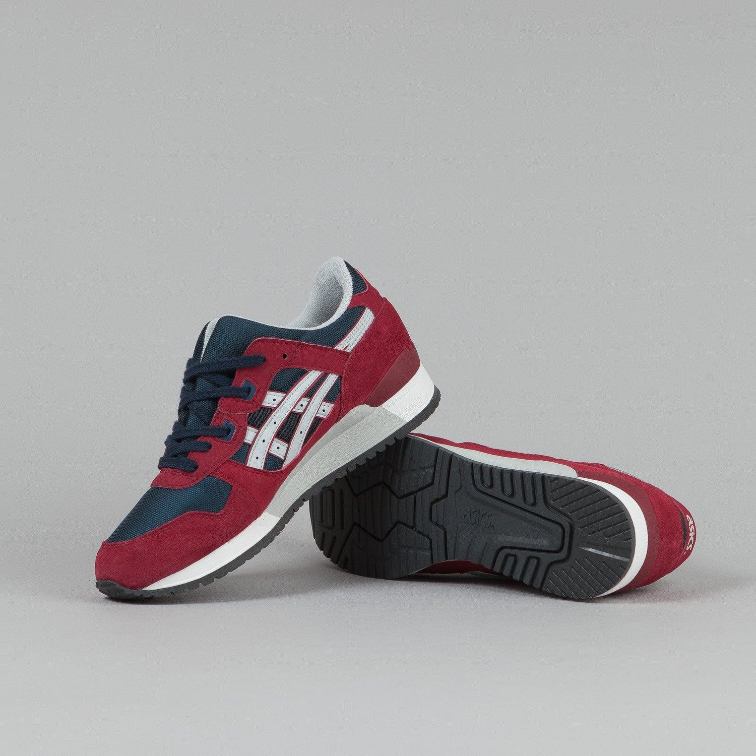 Asics Gel Lyte III Burgundy / Soft Grey