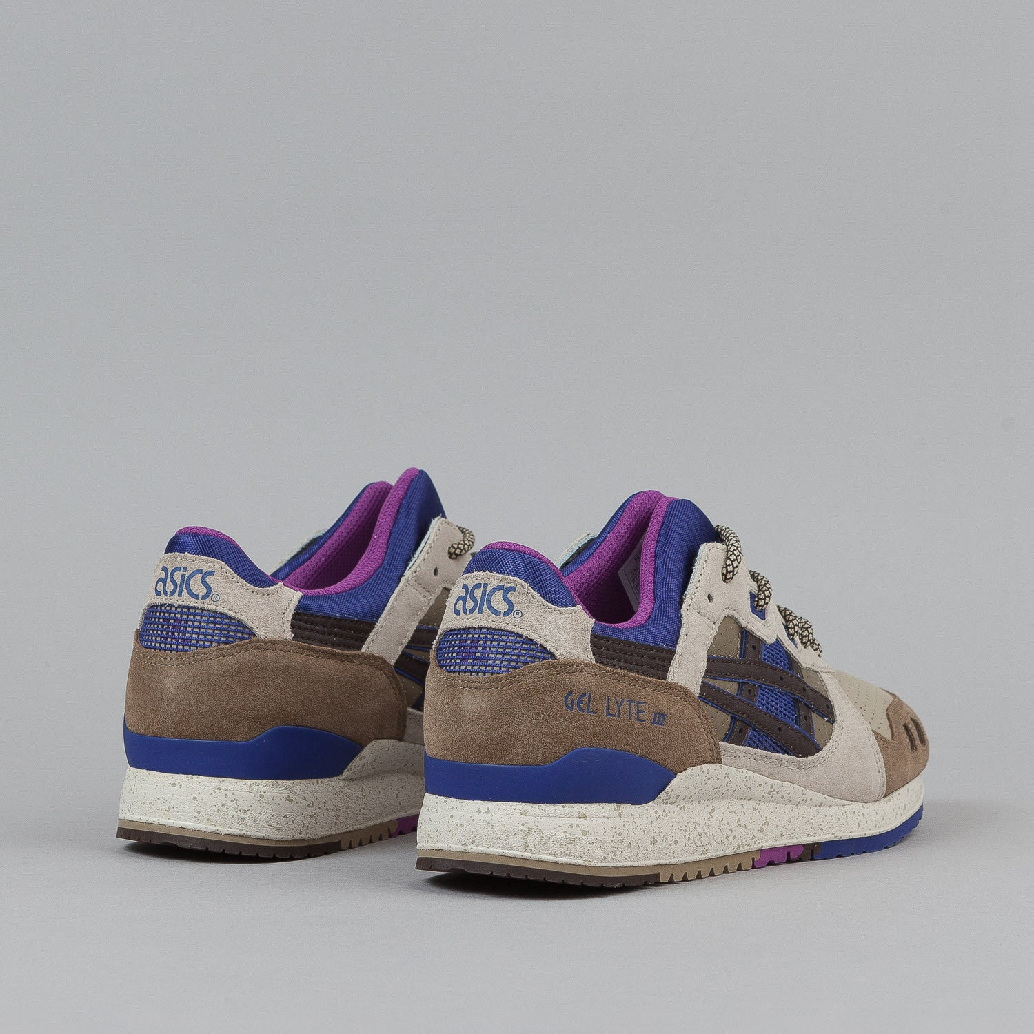 Asics Gel Lyte III Shoes 'Outdoor' - Light Brown / Dark Brown