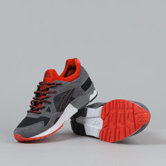 Asics Gel Lyte V Shoes - Black / Orange.com