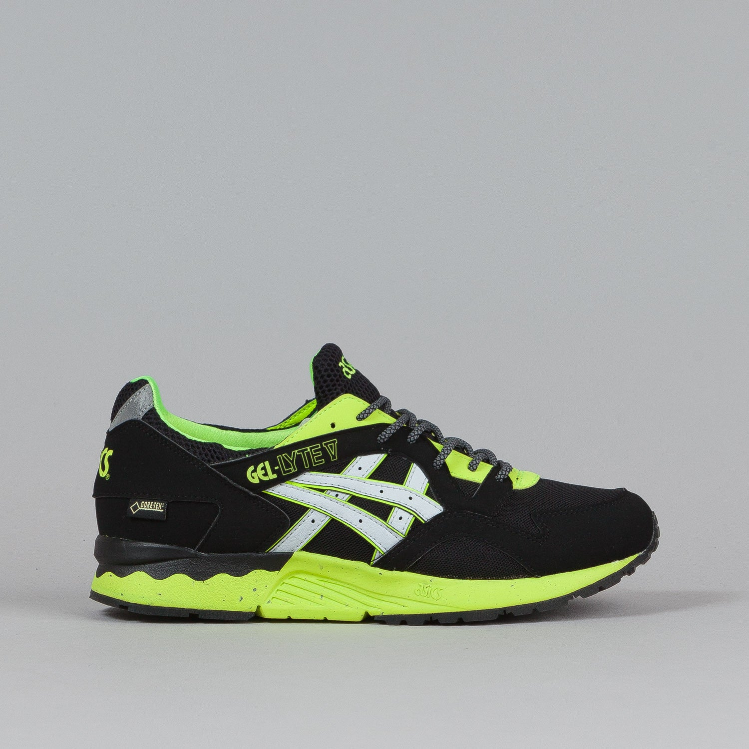 Asics Gel Lyte V Shoes Black / Soft Grey (Gore Tex)
