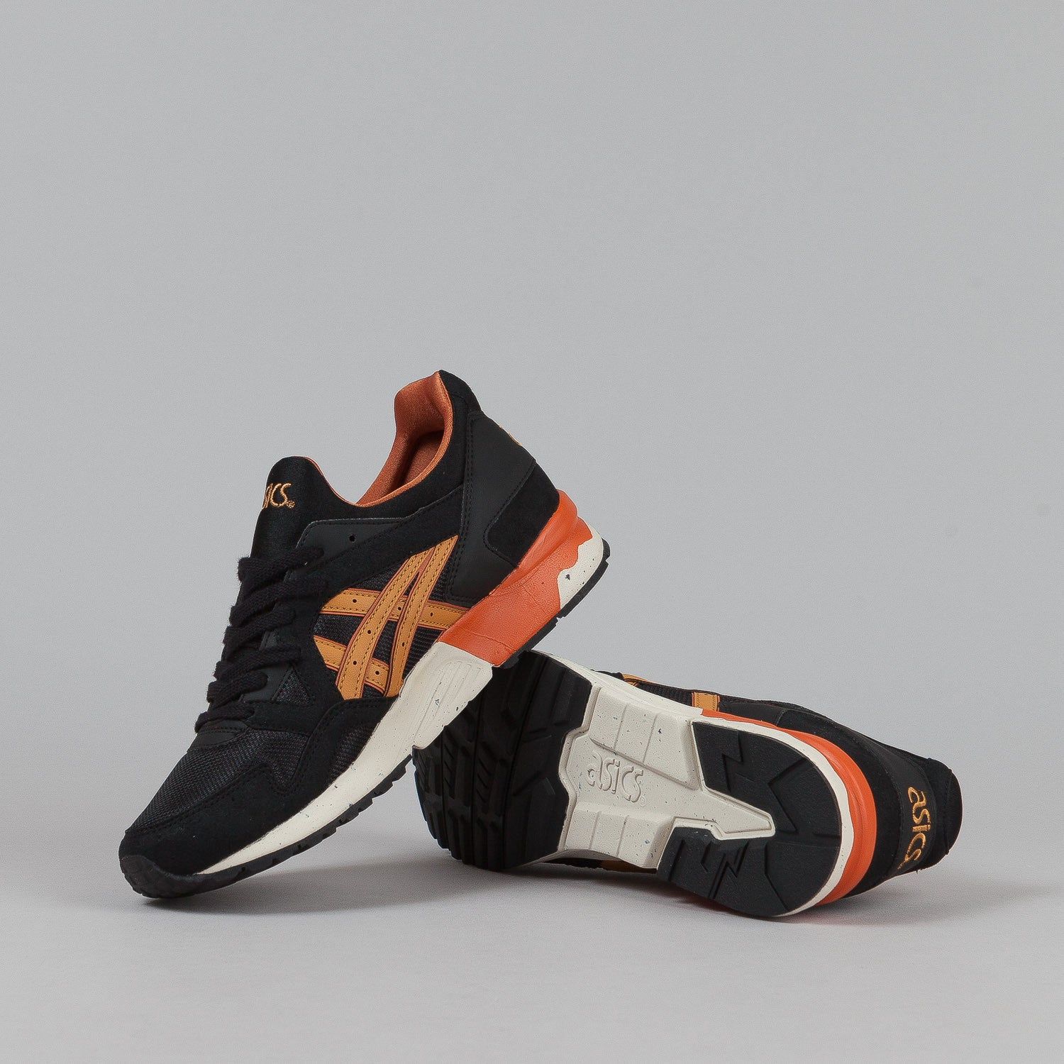 Asics Gel Lyte V Shoes - Black / Tan