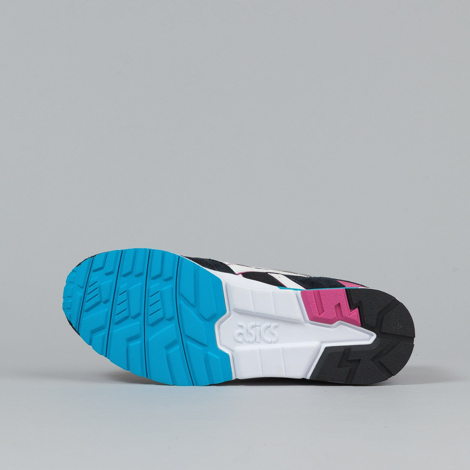 Asics Gel Lyte V Shoes - Black / White / Light Blue / Pink
