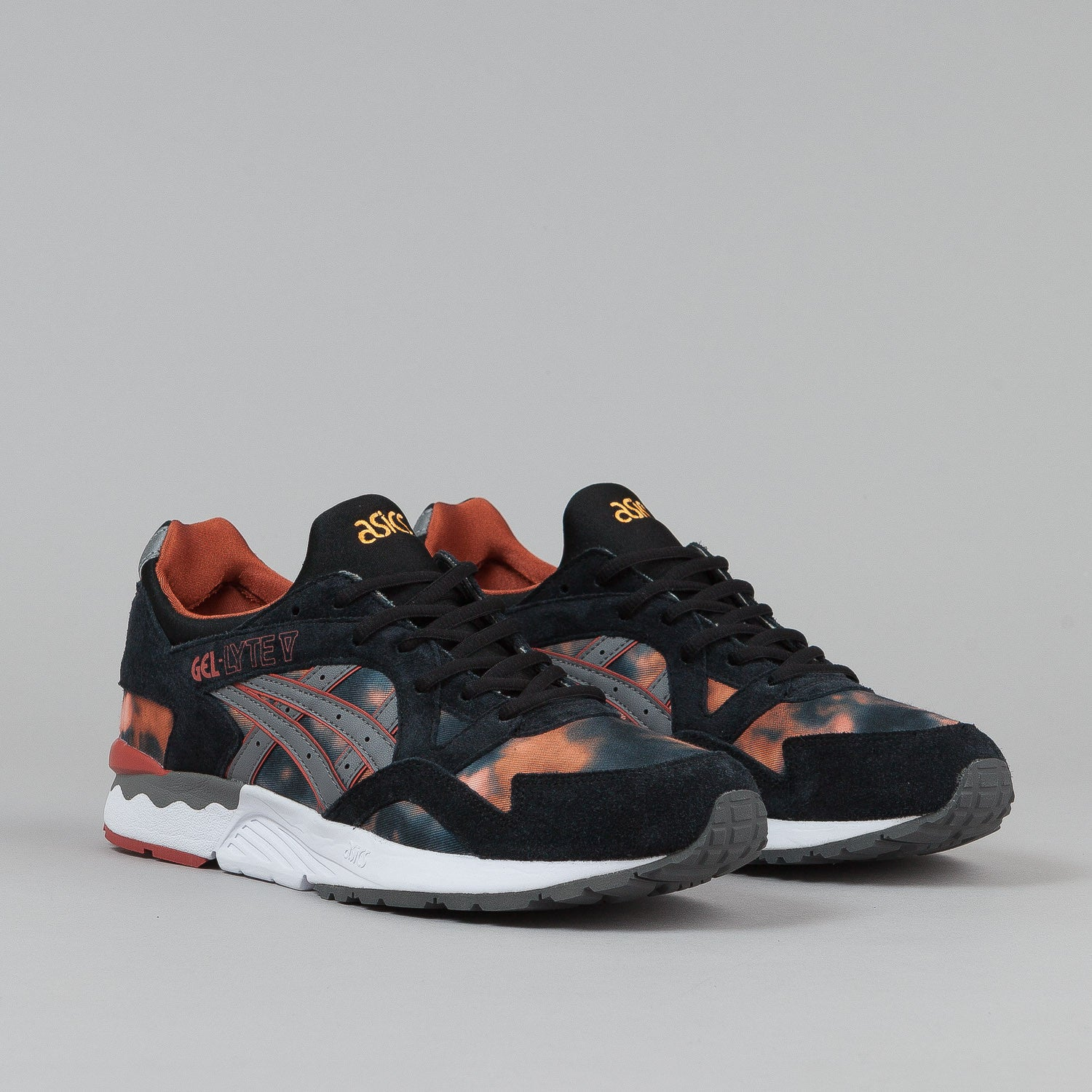 Asics Gel Lyte V Shoes - Tie Dye / Grey