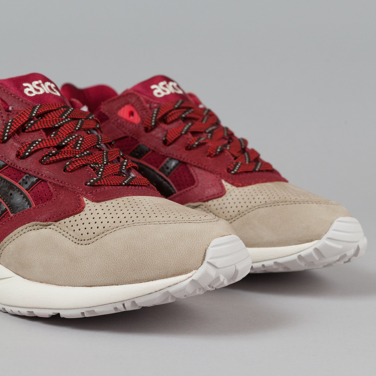 "Asics Gel Saga Shoes Burgundy / Dark Brown ""Christmas Pack"""