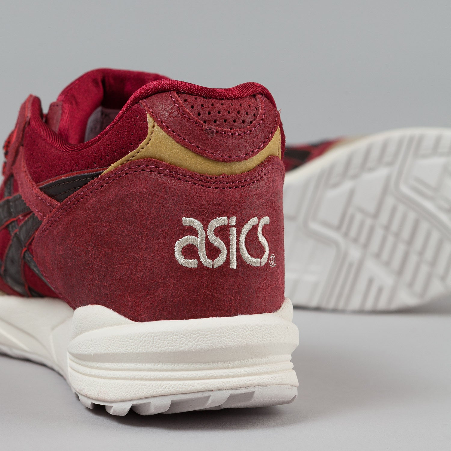 asics gel brown