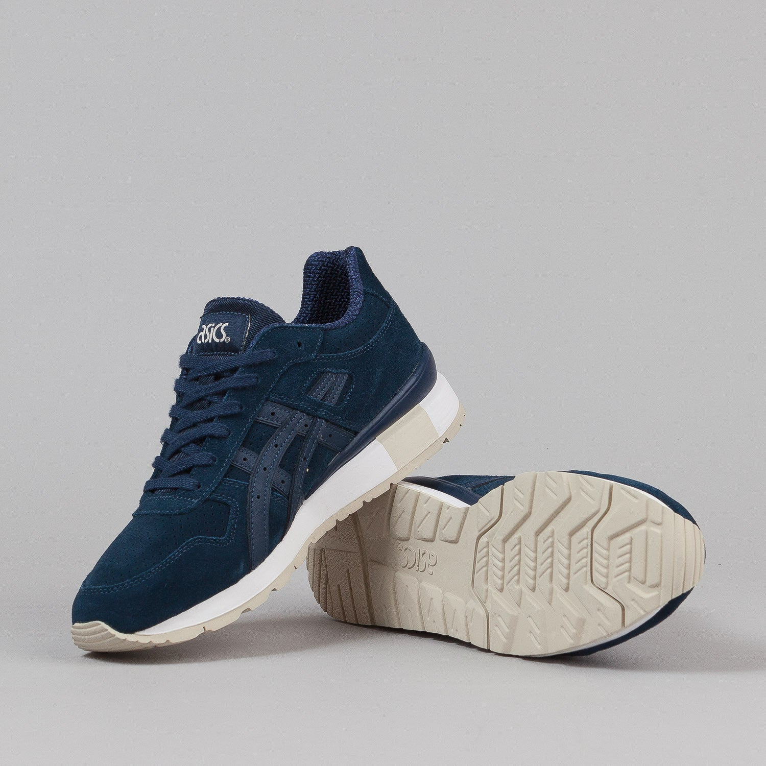 Asics GT II Shoes - Navy 'Suede Pack'