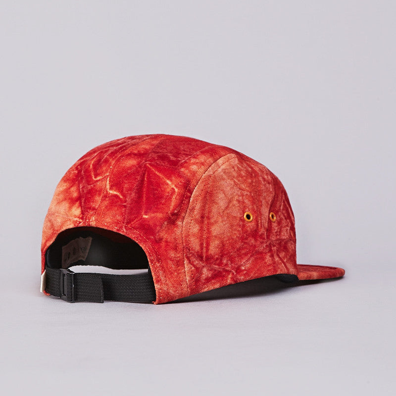 Axs 5 Panel Camp Cap Red