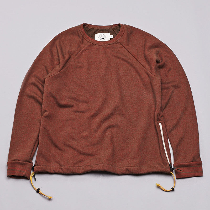Axs Crew Neck Sweatshirt Volcanic Rock