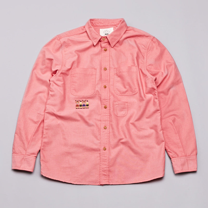Axs Work Shirt Poppy Red
