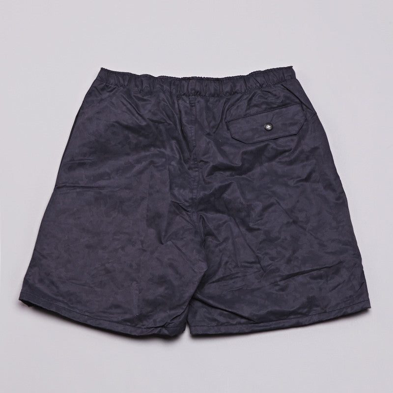 Axs Running Shorts Black Leopard