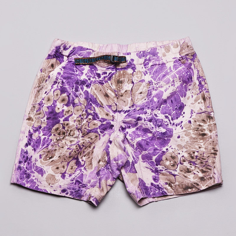 Axs Trail Shorts Pebble Wash Purple