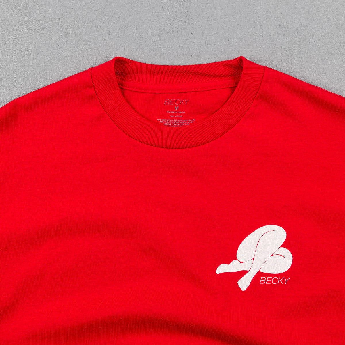 Becky Factory Becky Logo T-Shirt - Red
