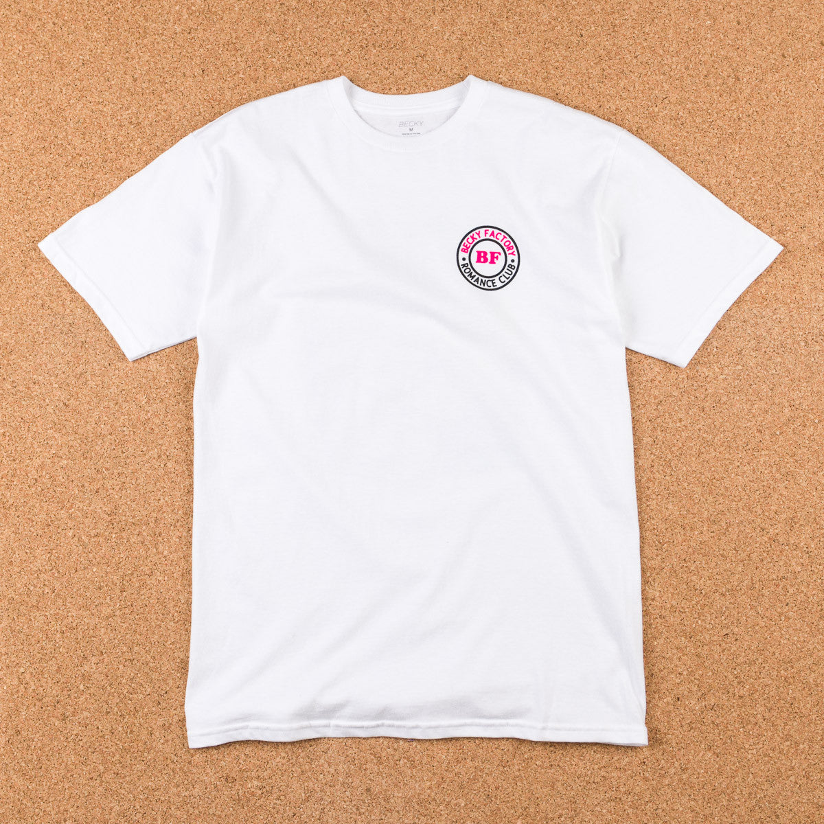Becky Factory Romance Club T-Shirt - White