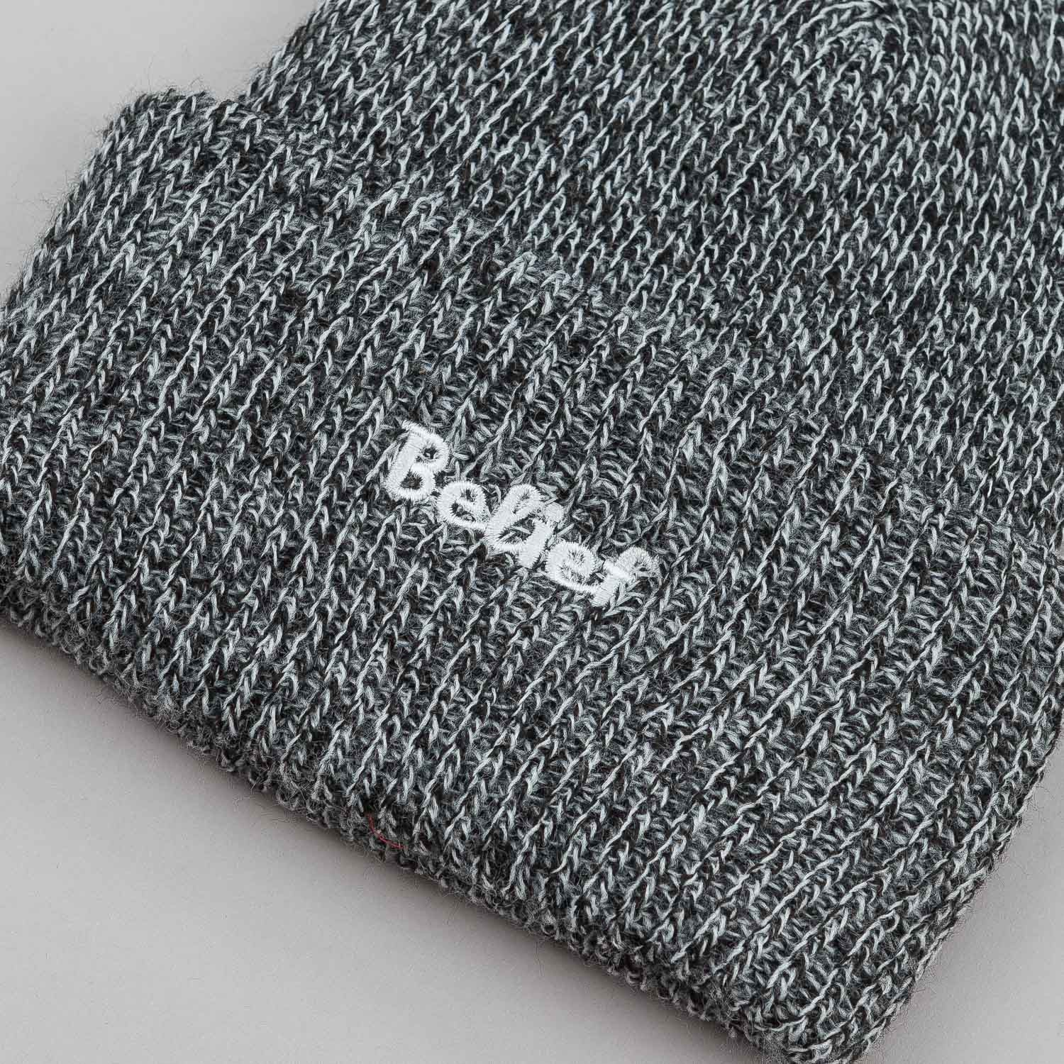 Belief Authentic Cuff Beanie - Black Marl
