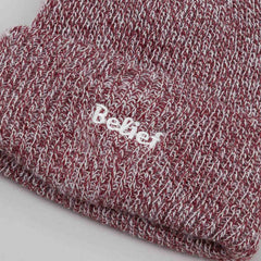Belief Authentic Cuff Beanie - Burgundy Marl
