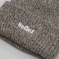Belief Authentic Cuff Beanie - Olive Marl