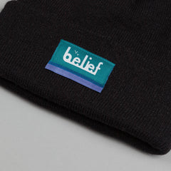 Belief Bottom Line Beanie - Black