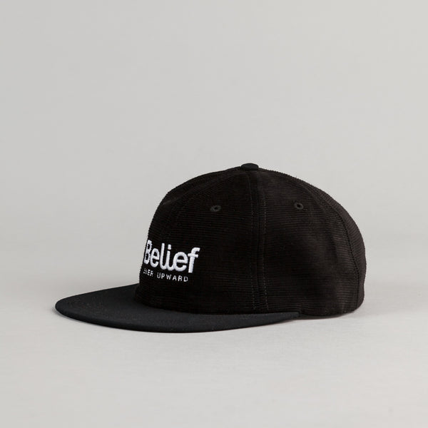 Belief Connect 6 Panel Cap - Black