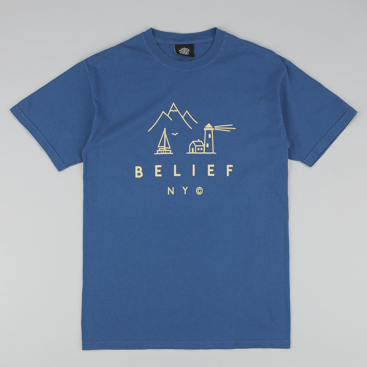 Belief Country T-Shirt - China Blue