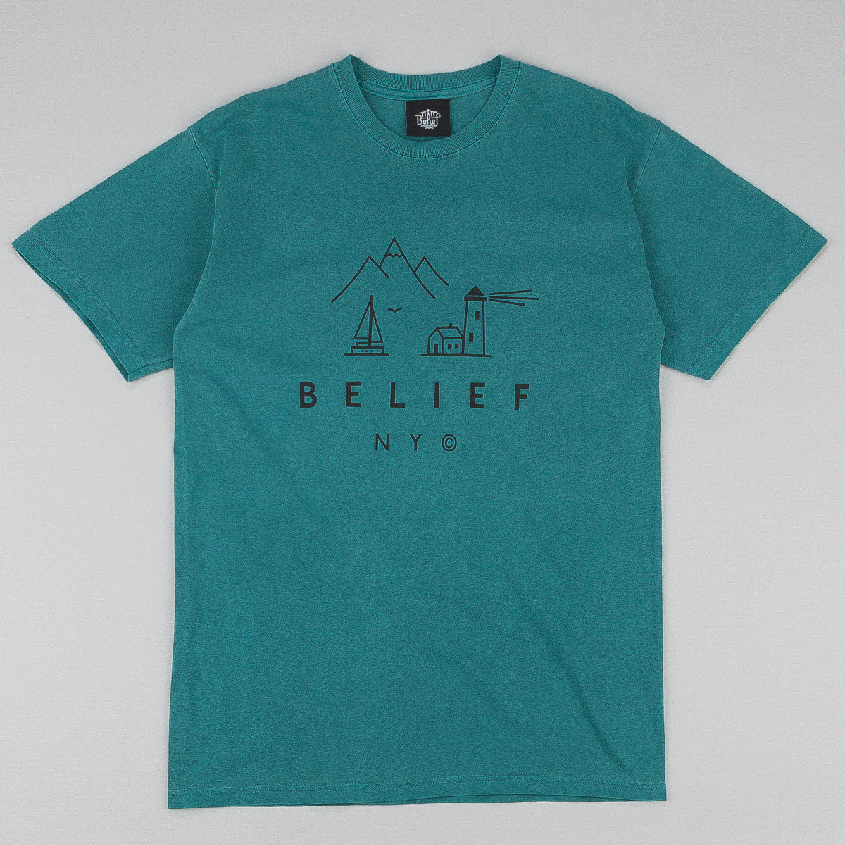 Belief Country T-Shirt - Emerald