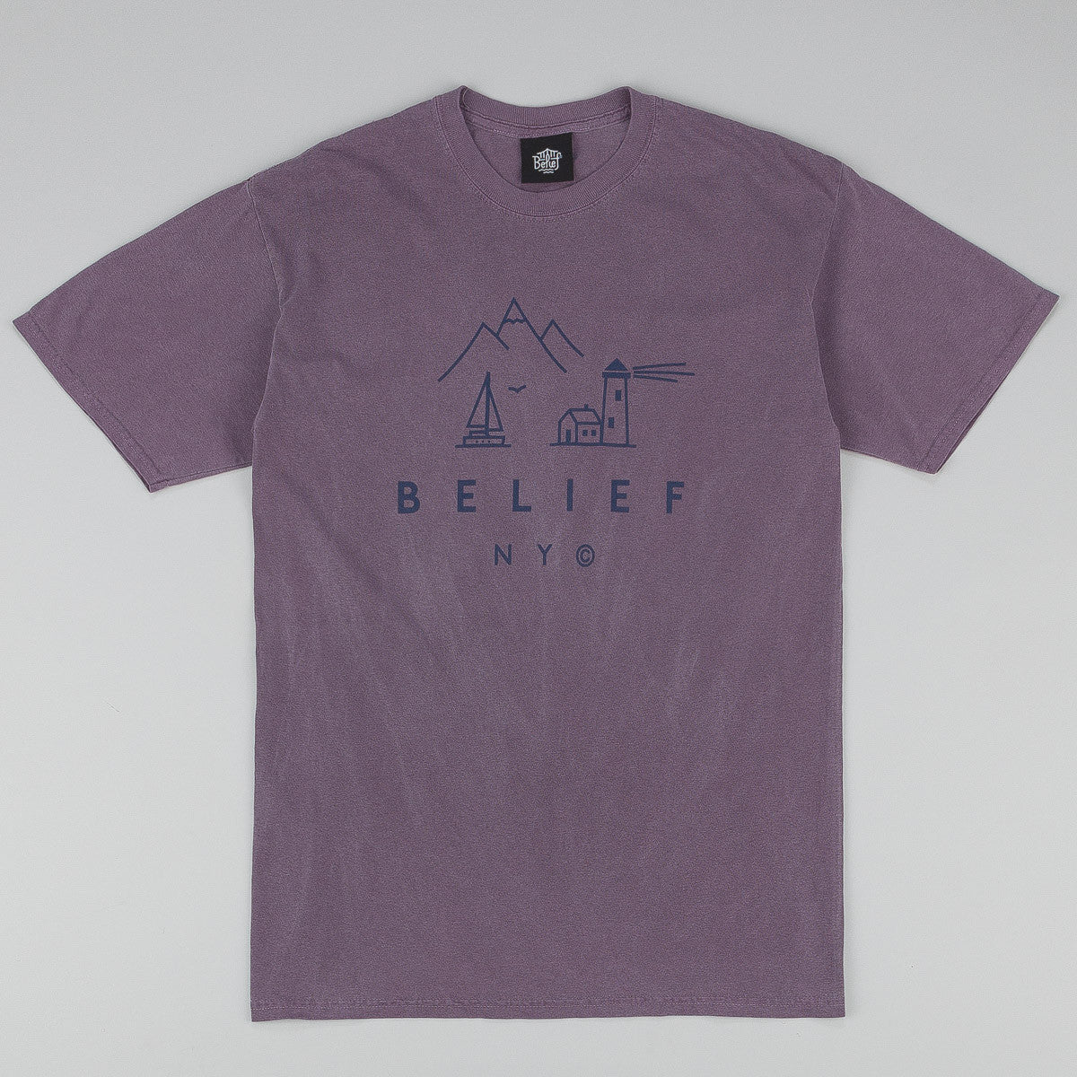 Belief Country T-Shirt - Wine