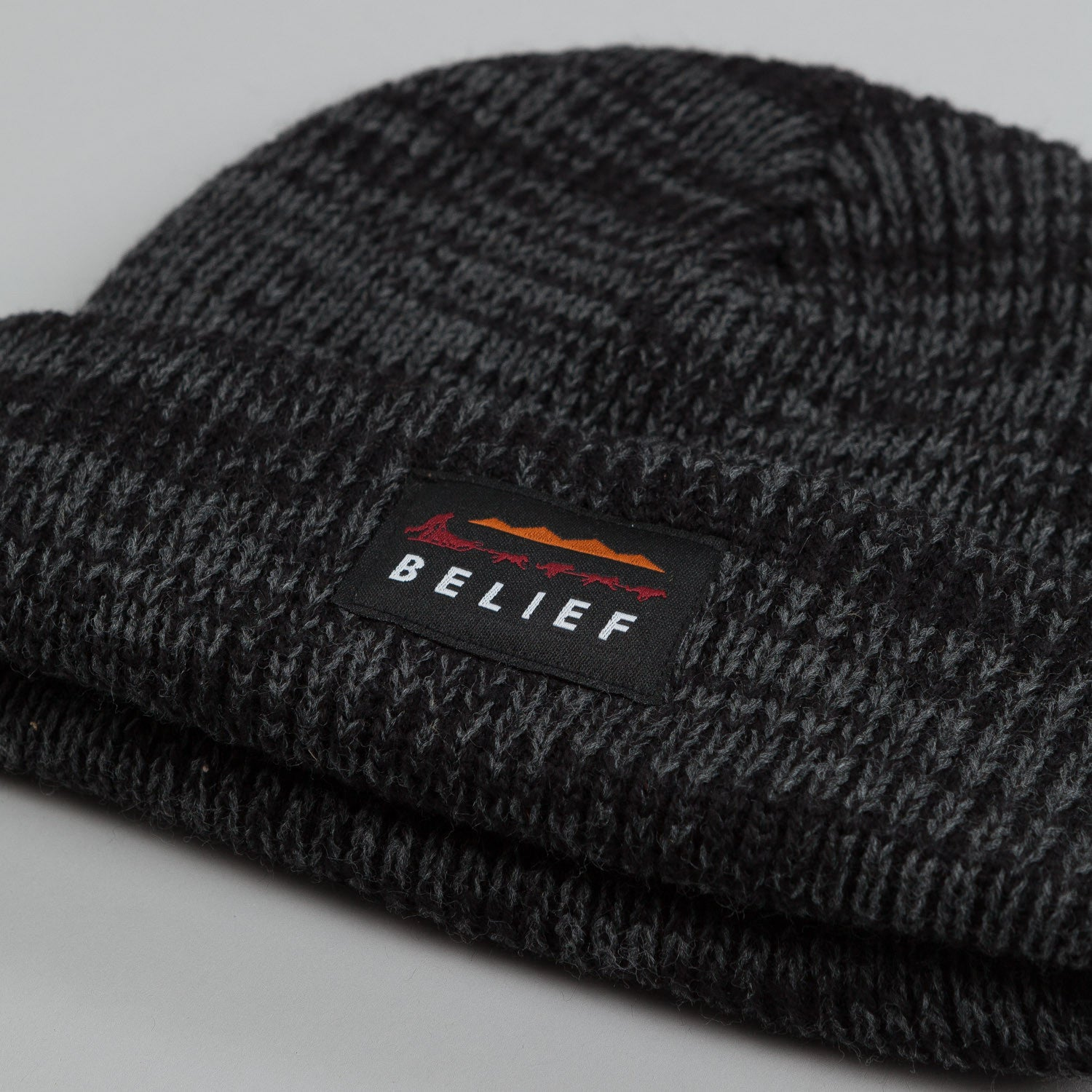 Belief Dogsled Beanie Black Marl