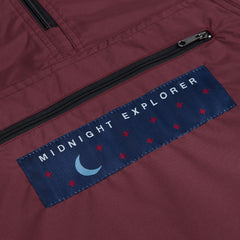 Belief Exploration Windbreaker Burgundy
